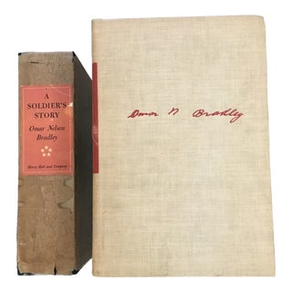 A Soldier's Story, by Omar N. Bradley, Signed First Limited Edition Book For Sale