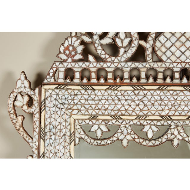 A Syrian Mother Of Pearl Bench Available To Purchase At: Exquisite 20th Century Syrian Mother Of Pearl Inlaid