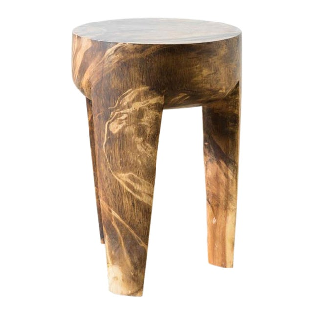 Wila Mango Wood Stool For Sale