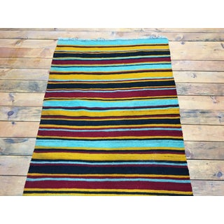 1980s Turkish Striped Kilim Rug Runner Rug - 3′ × 9′6″ Preview