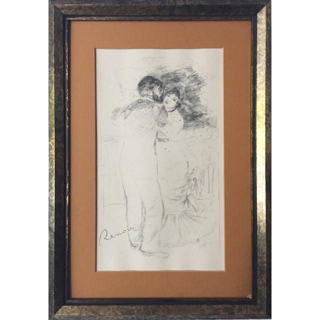 "Vintage Renoir Reprint ""Dance at Chatou"" - Image 1 of 7"