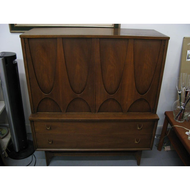 Broyhill Brasilia Highboy Dresser - Image 11 of 11