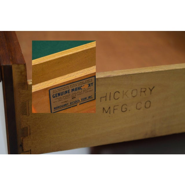 Honduran Mahogany Vanity by Hickory Manufacturing For Sale - Image 12 of 13