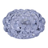 Image of Crystal Icicle Candle Holder For Sale