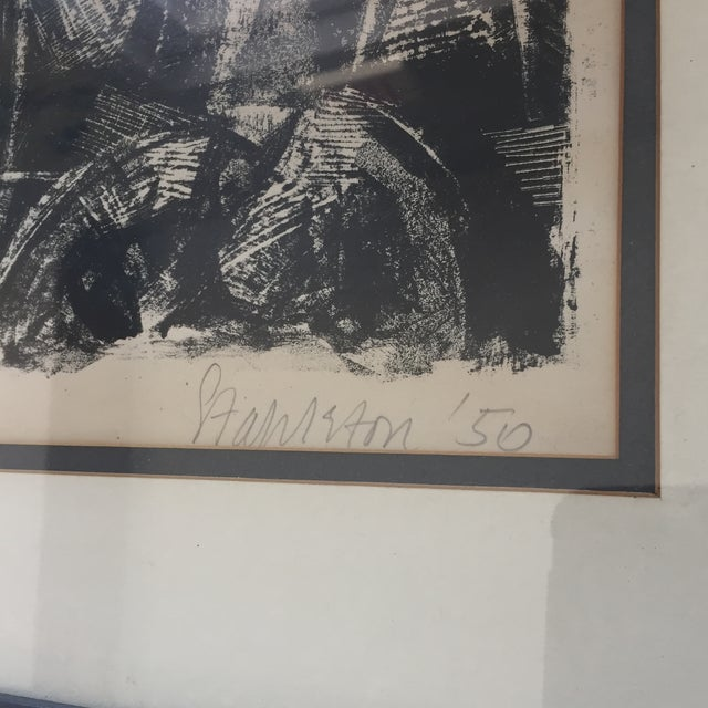 Vintage Picasso Style Lithograph - Image 3 of 7