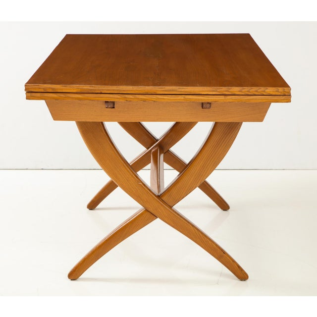 Guglielmo Pecorini Guglielmo Pecorini Extension Dining Table For Sale - Image 4 of 13