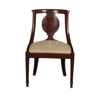 Early 19th Century Vintage Directoire Side Chair For Sale
