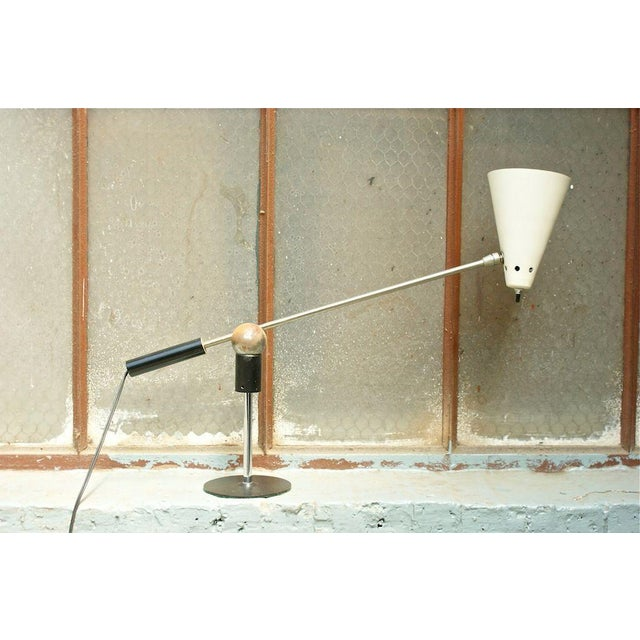 Heifetz Lamp Company Gilbert Waltrous Table Lamp For Sale - Image 4 of 7