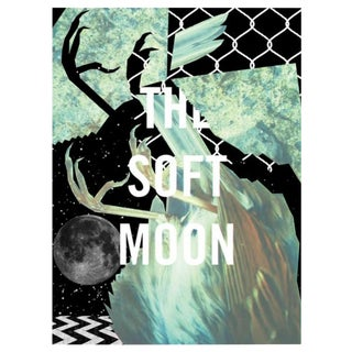 2018 Contemporary Music Poster - the Soft Moon For Sale