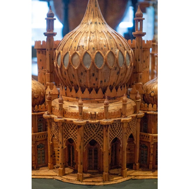 Royal Brighton Pavilion Matchstick Architectural Model by Bernard Martell For Sale - Image 11 of 13