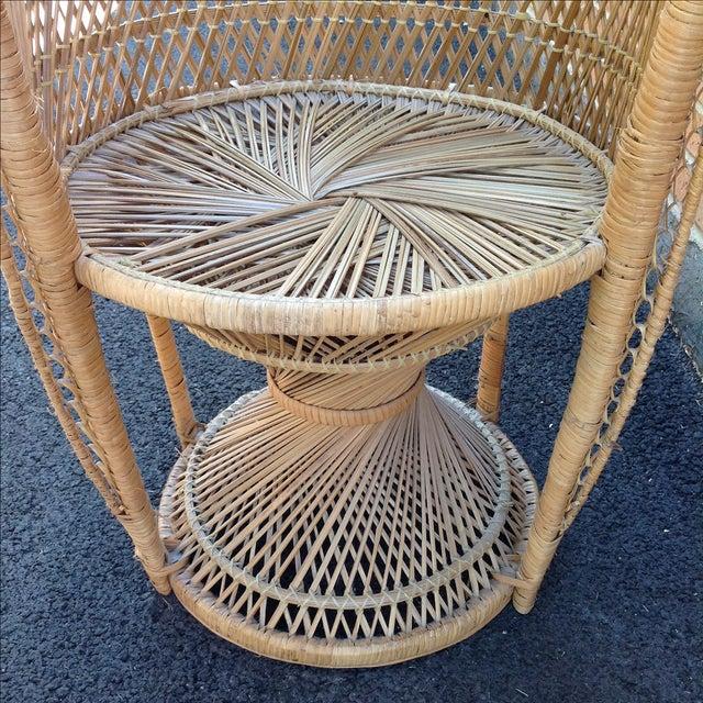 Vintage Rattan Peacock Chair - Image 8 of 9