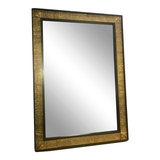 1960s Hollywood Regency Greek Key Gilded Mirror
