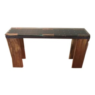 Century Furniture Lanna Home Woodhenge Console For Sale