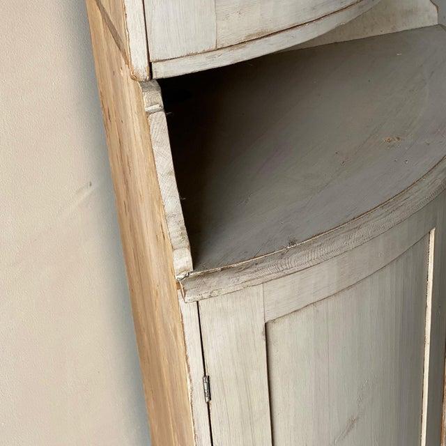 Antique Gustavian Corner Cabinet For Sale - Image 9 of 13