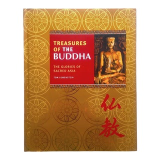 """"""" Treasures of the Buddha - the Glories of Sacred Asia """" Cultural Arts Hardcover Photography Book For Sale"""