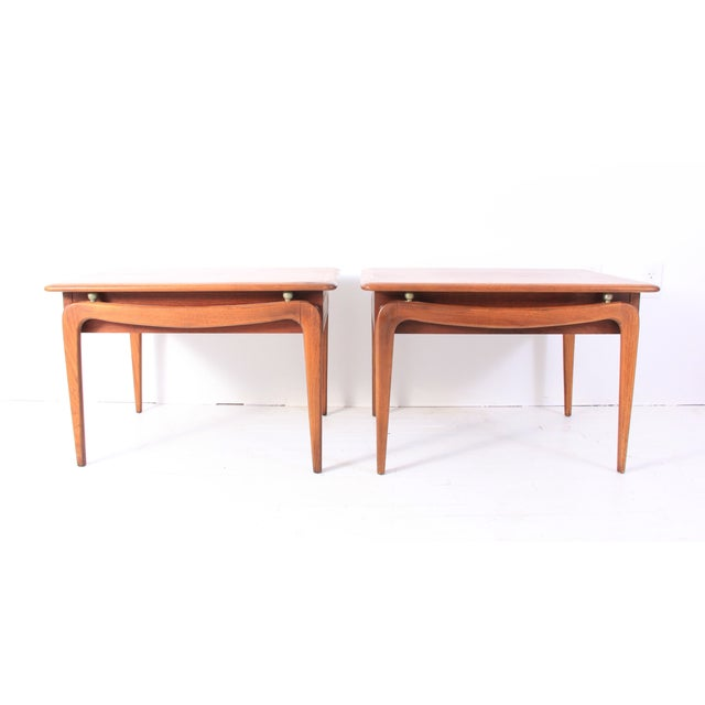 Vintage Lane Mid-Century Side Tables - a Pair - Image 4 of 10