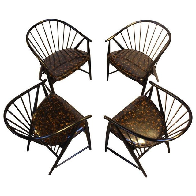 Set of Four Sonna Rosen 'Sulfjadern' Chairs - Image 3 of 8