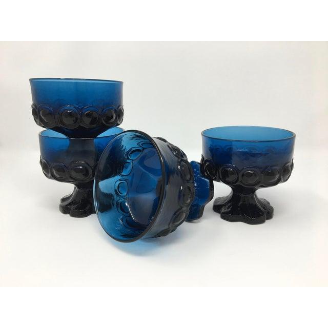 Franciscan Madeira Dark Blue Dessert & Berry Bowls--Set of 4 For Sale - Image 9 of 9
