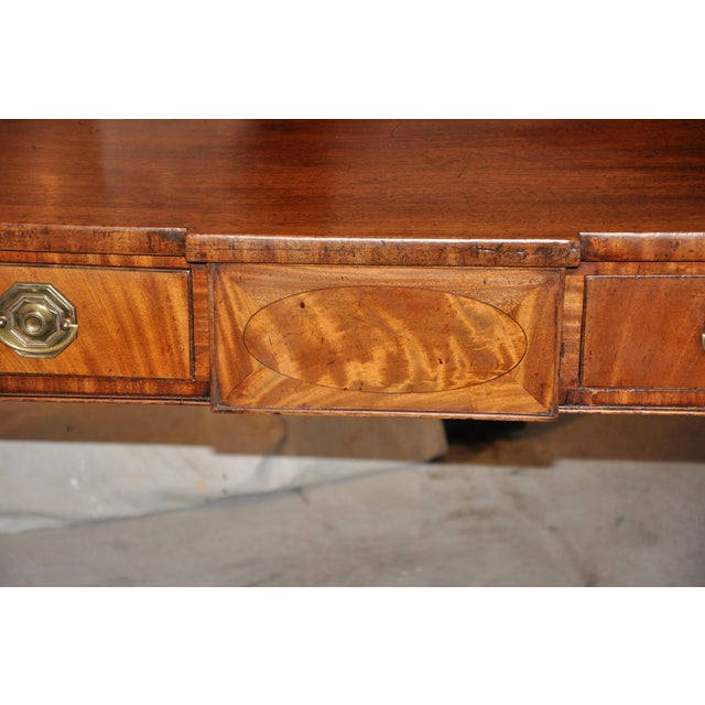 Georgian Early 19th C. Georgian Mahogany Sideboard For Sale - Image 3 of 8