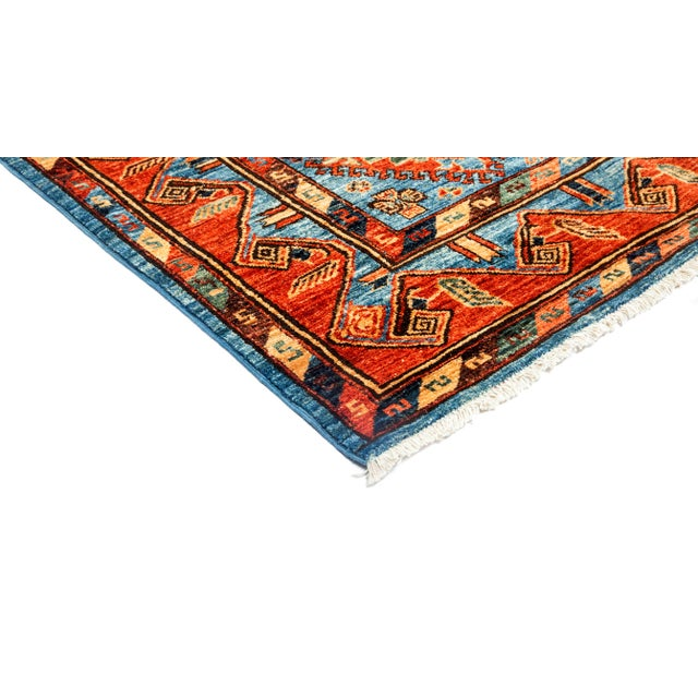 """New Tribal Traditional Hand Knotted Area Rug - 8'1"""" x 10'3"""" - Image 2 of 3"""