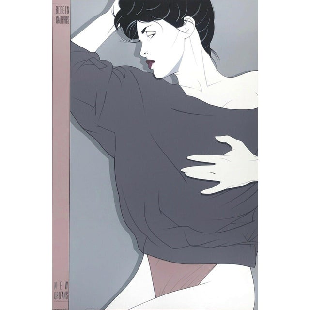 """""""Commemorative #12"""" Limited Edition Silkscreen After Patrick Nagel For Sale"""