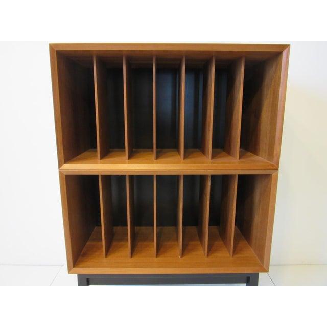 Danish Cado Teak Record Cabinet For Sale In Cincinnati - Image 6 of 10