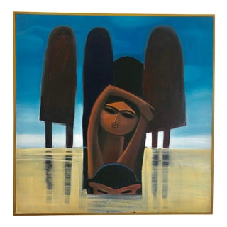 6 Bathers by Khoo Sui Hoe For Sale
