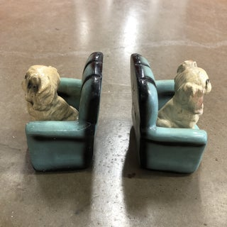 1950s Ceramic Dog Bookends Preview
