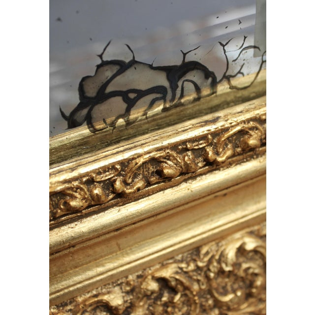 Early 20th Century French Gold Gilt Mirror - Image 6 of 7