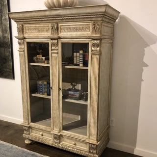 Vintage Italian Wood Carved Cabinet Preview