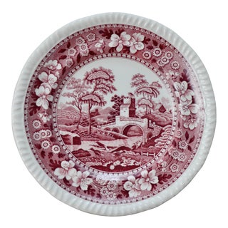 """6"""" English Copeland Spode Tower Bread Plates - Set of 8 For Sale"""