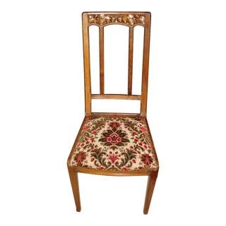 French Art Nouveau Chair For Sale