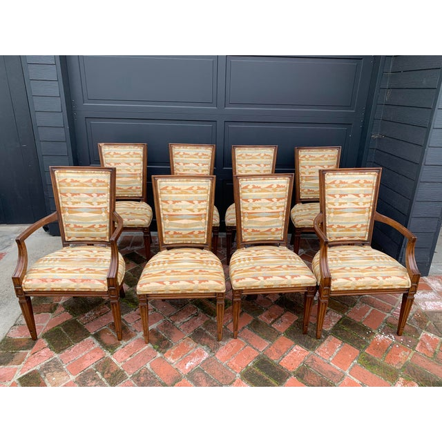 Classic Vintage Louis Dining Chairs - Set of 8 For Sale - Image 11 of 11
