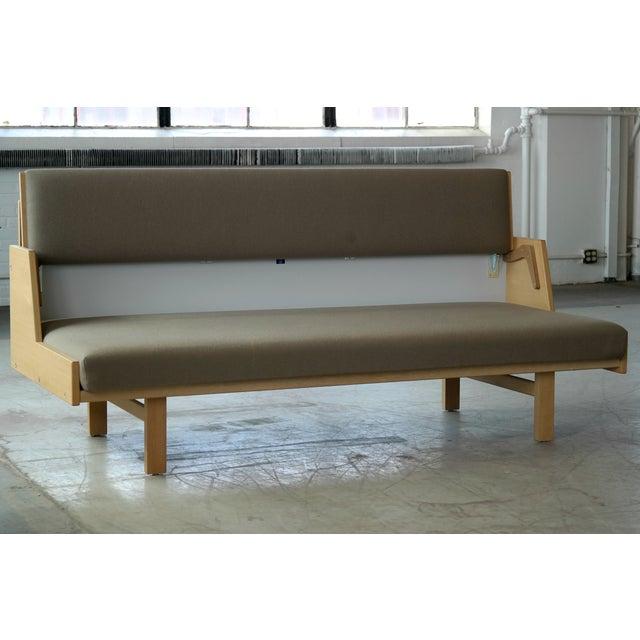 Hans Wegner for GETAMA Model 258 Oak Sofa or Daybed For Sale - Image 10 of 11