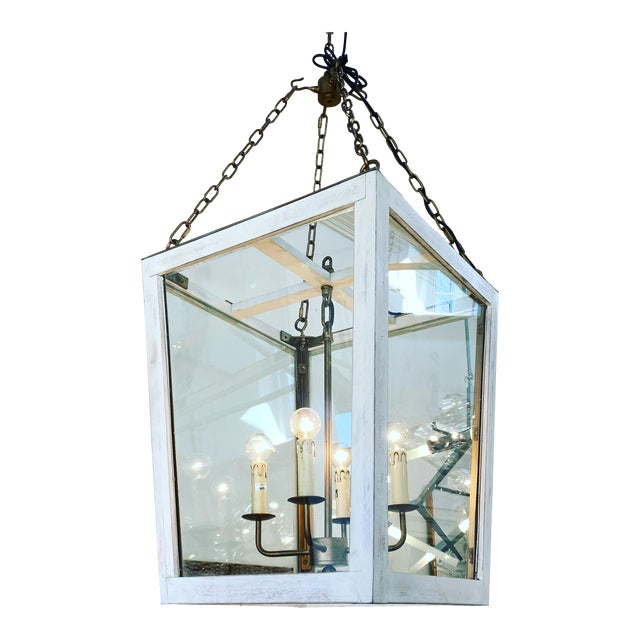 Julian Chichester Triangle Lantern For Sale