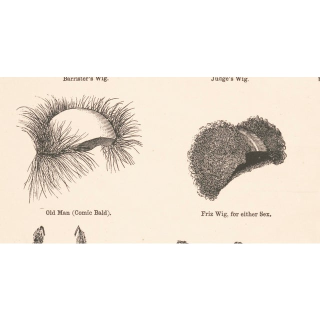 1800's Wigs and Beards Print - Image 4 of 5