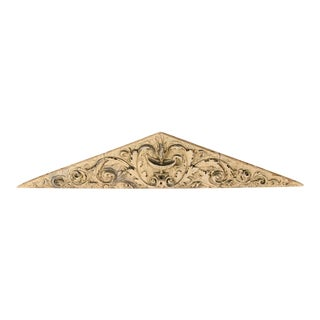 19th Century Triangular Three Part Terracotta Frieze Philadelphia circa1870 - 3 Pieces For Sale