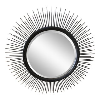 Modern Vanguard Carmen Spoked Sunburst Mirror For Sale