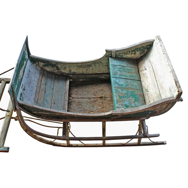 Antique Late 19th Century Industrial Cutter Sleigh - Image 7 of 7