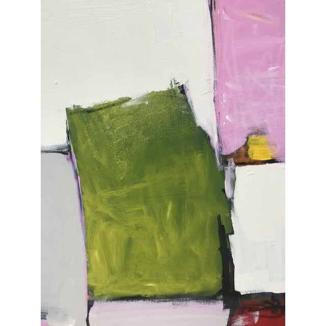 Spring Street Contemporary Abstract Painting For Sale - Image 6 of 10