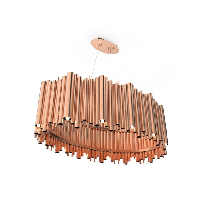 Not Yet Made - Made To Order Brubeck Oval Chandelier From Covet Paris For Sale - Image 5 of 11