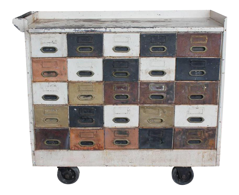 American Industrial Multi Drawer Cabinet