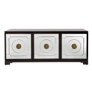 Contemporary Grace Home Collection Woodward Cabinet For Sale