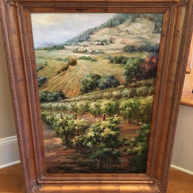 "Mayflower ""Vineyards"" Oil Painting - Image 4 of 4"