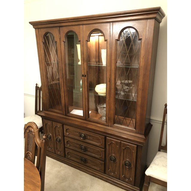 French 19th Century French Mahogany Style Cabinet Hutch For Sale - Image 3 of 13