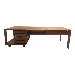 Contemporary Lacquer Convertible Coffee Table For Sale
