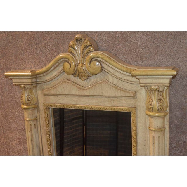 Cellini Furniture Neo-Classic Style Italian Wall Mirror For Sale In Philadelphia - Image 6 of 13