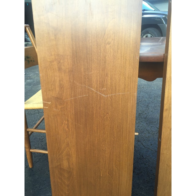 Vintage Heywood-Wakefield Dining Set For Sale - Image 10 of 11