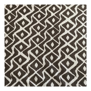 "Peter Fasano ""Sarpa"" Toffee Linen Fabric - 10 1/2 Yards For Sale"