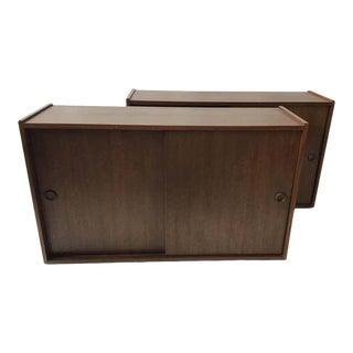1960s Danish Teak Cabinets - a Pair For Sale